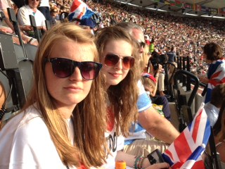 MillieandFreya at London 2012