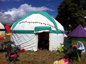 womad yurt