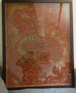 framed capercaillie